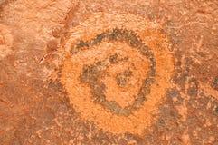Ancient Petroglyph Royalty Free Stock Photos