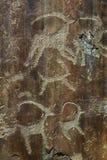 Ancient petroglyphs Stock Photos