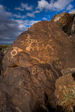 Ancient Petroglyphs In The Southwest Stock Images