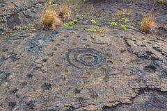 Ancient petroglyphs Royalty Free Stock Image