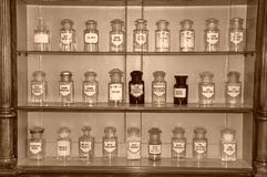 Ancient pharmacy Stock Photos