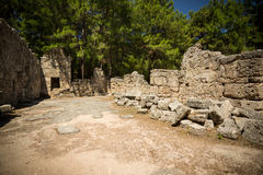Ancient Phaseliss ruins. Stock Image