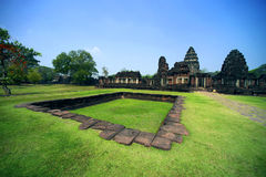 Ancient at Phimai Historical Park, Thailand Stock Image