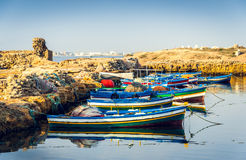 Ancient Phoenician Port of Mahdia Stock Photo