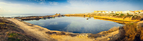 Ancient Phoenician Port of Mahdia Stock Photography