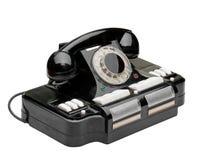 Ancient phone Stock Photo