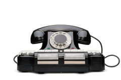 Ancient phone Stock Image