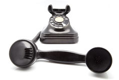 Ancient phone Stock Photography