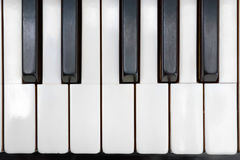 Free Ancient Piano Ivory Keys Close Up Royalty Free Stock Image - 95228756