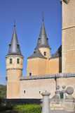 Ancient picturesque palace in Segovia Stock Images