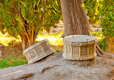 Ancient pieces Royalty Free Stock Photography