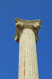 Ancient pillar. A Ancient pillar with blue sky background Stock Images