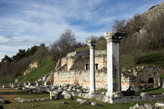 Ancient pillars Royalty Free Stock Images
