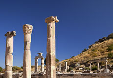 Ancient Pillars of Ephesus Royalty Free Stock Image