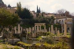 Ancient pillars Royalty Free Stock Photography