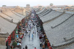 Ancient Pingyao city Royalty Free Stock Photo