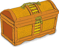 Ancient pirate chest - vector eps8 Stock Photography