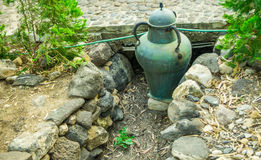 Ancient pitcher on the monastery Mary Magdalene Royalty Free Stock Images