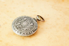 Ancient pocket watch Royalty Free Stock Photography