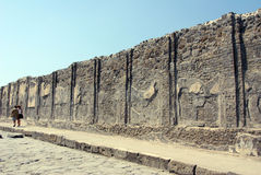 The ancient Pompei, Italy Royalty Free Stock Photos