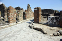 The ancient Pompei, Italy Stock Photography