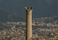 Ancient Pompeii. Pompeii, ancient town in Italy, near Naples Royalty Free Stock Images