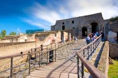 Ancient Pompeii Stock Photography
