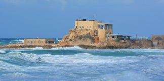 The ancient port at Caesarea Royalty Free Stock Photos