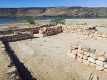 Ancient port Khor rawri Stock Photos