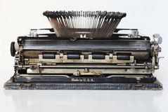 Ancient portable typewriter Stock Photo