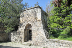 Ancient portal next to the church of Saint Sarkis. Oldest building of church complex of Saint Sarkis Royalty Free Stock Images
