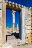 Ancient portal Royalty Free Stock Photos