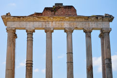 Ancient Portico Royalty Free Stock Photography