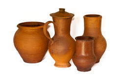 Ancient Pottery Royalty Free Stock Photos