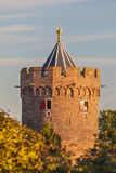 The ancient Powder Tower in the Dutch city of Nijmegen Royalty Free Stock Image