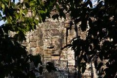 Ancient of Prasat Bayon temple, Angkor Thom Royalty Free Stock Photo