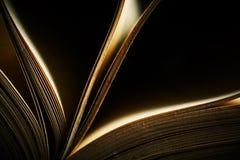 Ancient prayer book. Space for text. Shallow DOF Stock Photos