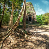 Ancient pre Angkor Sambor Prei Kuk temple ruins. Cambodia Royalty Free Stock Photo