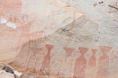 Ancient pre-historic paint Stock Photos