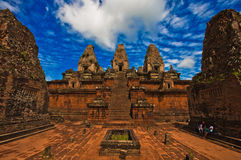 Ancient Pre Rup Temple in Angkor Royalty Free Stock Image