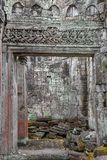 Ancient Preah Khan temple in Angkor. Siem Reap, Cambodia Royalty Free Stock Images