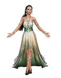 Ancient priestess 1 royalty free stock image