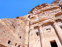 Ancient prison. In Jordan. Petra Royalty Free Stock Images