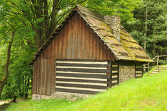 Ancient provincial cottage Stock Images
