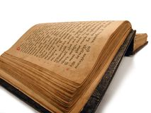 Ancient Psalter Stock Photography