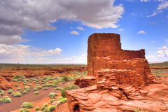 Ancient pueblo ruin Stock Images