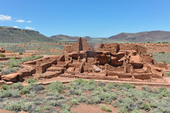 The Ancient Pueblo Ruins, Arizona Stock Photo
