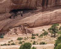Ancient Puebloan ruin, Canyon De Chelly. Ancient Puebloan ruin, Anazasi ruin, Canyon De Chelly White House ruin stock photo