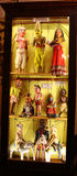 Ancient puppet show dolls. India Stock Photo