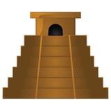 Ancient pyramid temple Royalty Free Stock Photo